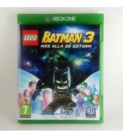 LEGO BATMAN 3 MAS ALLA DE...