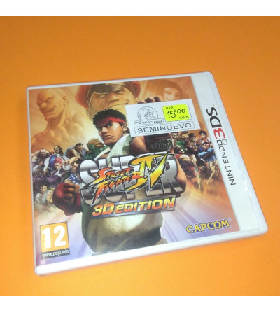 SUPER STREET FIGHTER IV 3D...