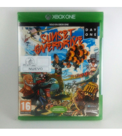 SUNSET OVERDRIVE DAY ONE...