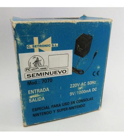 ADAPTADOR AC DC 9V 1A NES &...
