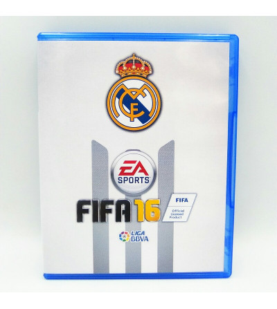 FIFA 16 - CARATULA REAL MADRID