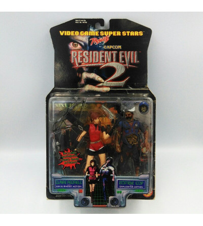 CLAIRE REDFIELD WITH AIM...