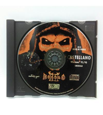 DIABLO II DISCO DE VIDEOS