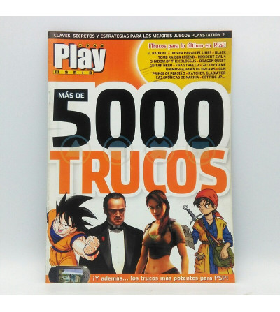 PLAY MANIA MAS DE 5000 TRUCOS