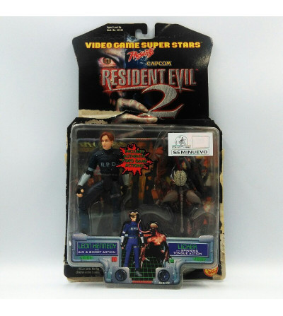 LEON KENNEDY WITH AIM AND...