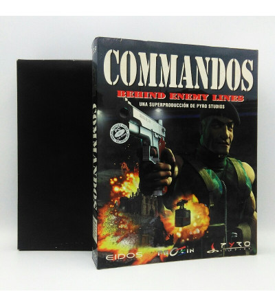COMMANDOS BEHIND ENEMY...