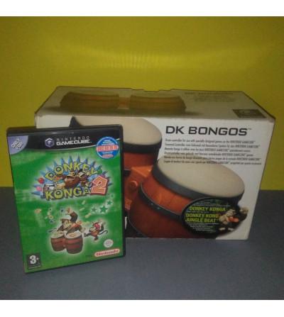 DONKEY KONGA 2 + BONGOS PACK