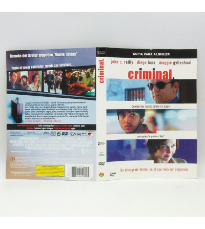 CRIMINAL - EDICION ALQUILER