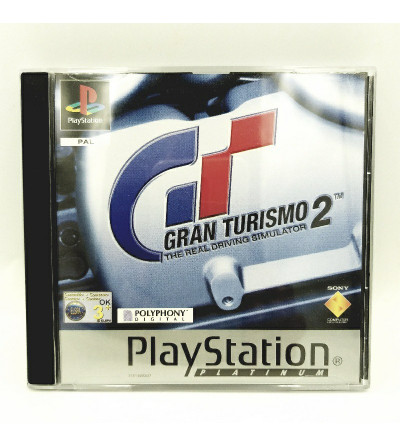 GRAN TURISMO 2 - PLATINUM