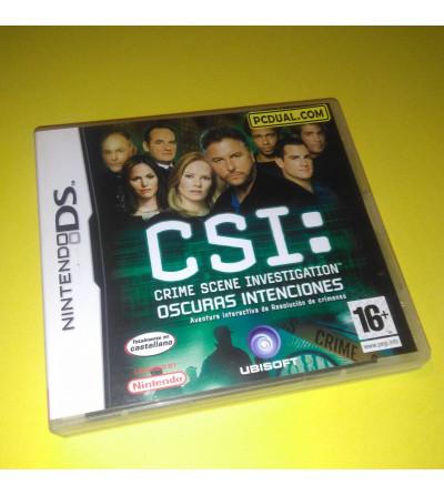 CSI: OSCURAS INTENCIONES