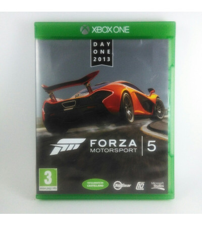 FORZA MOTORSPORT 5 DAY ONE...