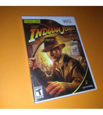 INDIANA JONES AND THE STAFF...