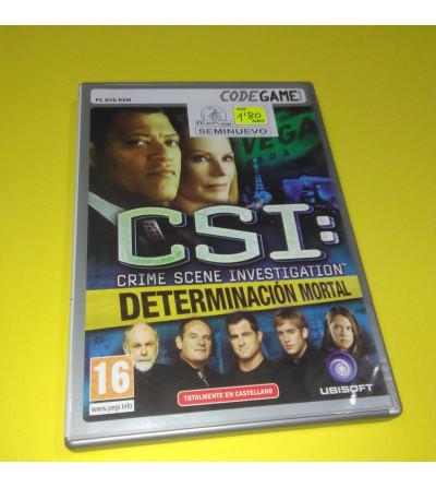 CSI: DETERMINACION MORTAL