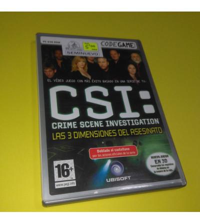 CSI: LAS 3 DIMENSIONES DEL...